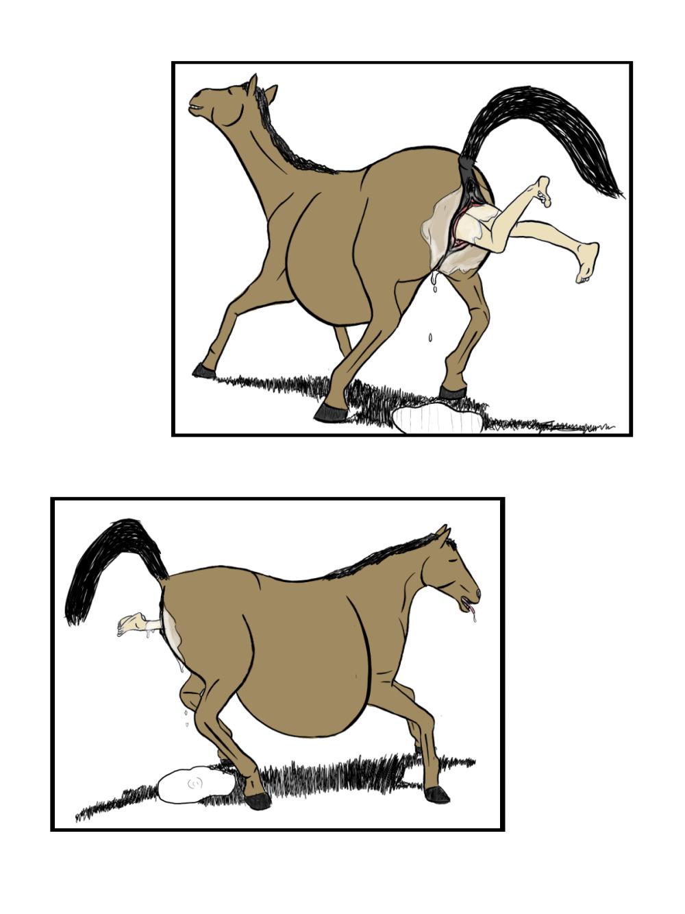 horse vore