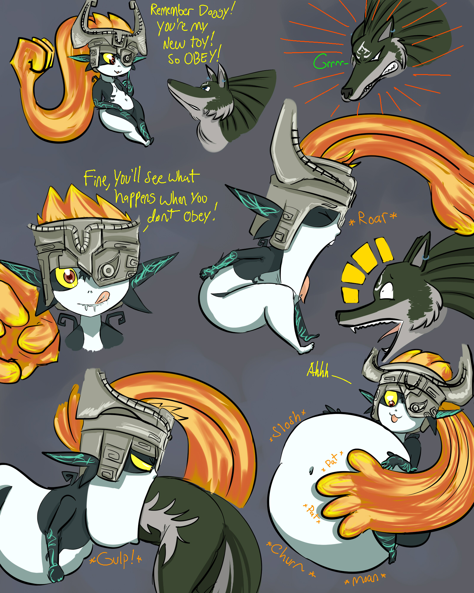 link and midna relationship test