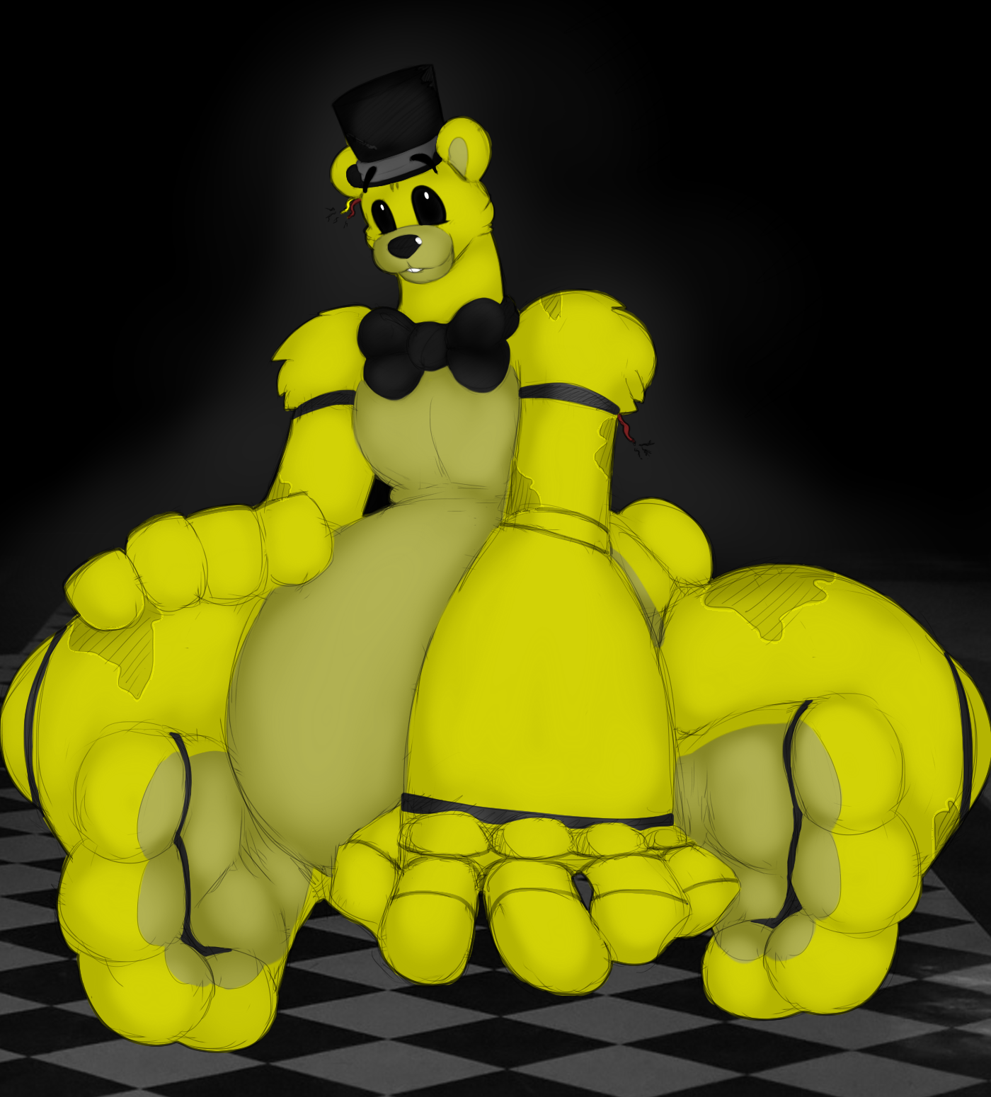 G4 Meet Golden Freddy By Heartman98