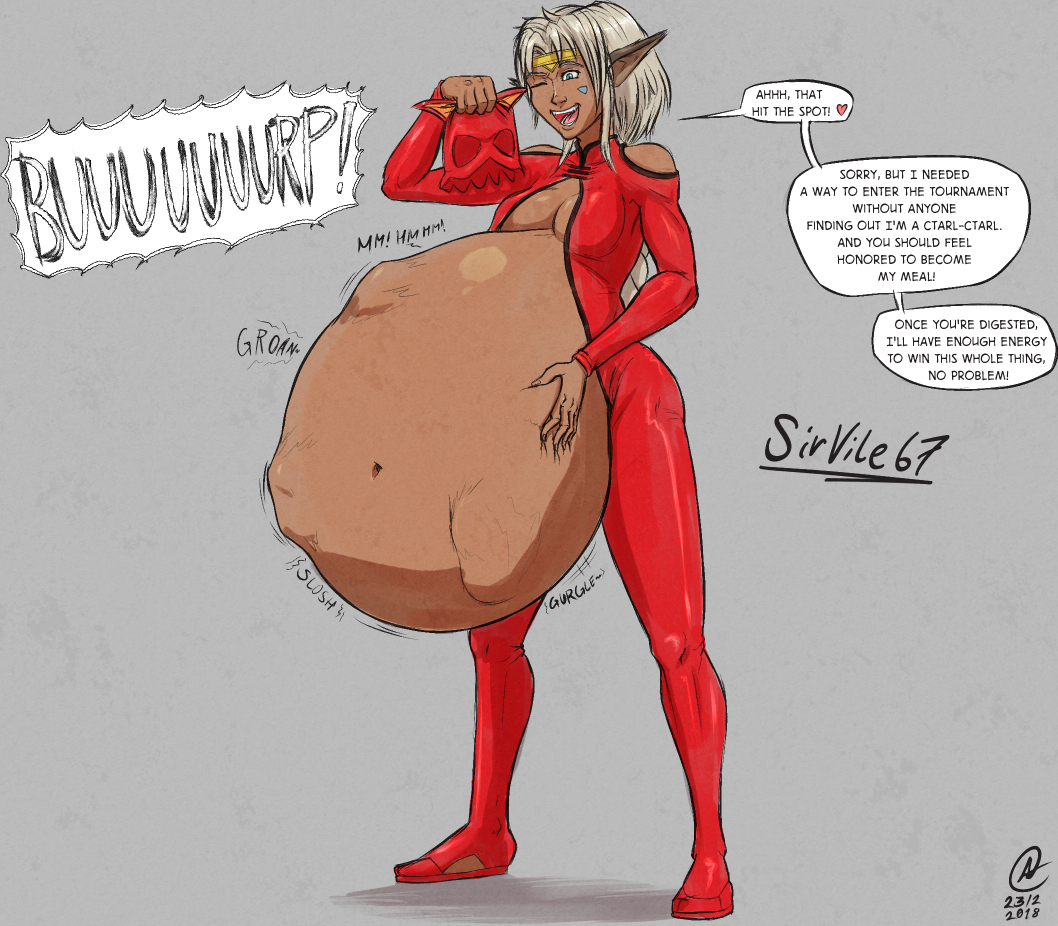 G4 Comm The Hungriest Woman In The Universe By Sirvile67